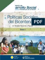 Políticas Sociales Del Bicentenario - Tomo I