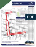 Bus Route Map CBD J2