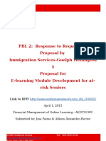 e-learning rfp response