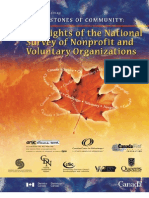 Statscan Survey of NFP