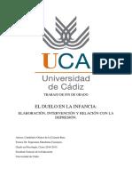 Gómez de La Calzada, C. - El Duelo en La Infancia (TFG)