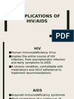 Complications of HIV