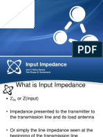 Transmission Lines Input Impedance