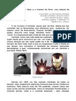 Tesla e o Homem de Ferro