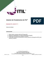 ITIL Foundation Sample B_v5.1_Spanish (Latin American).pdf