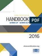 Certification HandbookFINAL