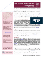 Youth Employment Policy Brief_Afghanistan