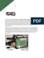 How Camcorders Work 6 by nafees