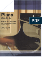 Trinity Piano Grade 6