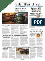 The Daily Tar Heel for Feb. 12, 2016