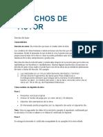 Información de Derechos de Autor y Patentes.
