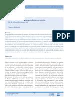 Cinco ideas innovadoras para la europeización de la educación superior Francesc Michavila