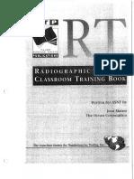 Radiography Level I - Classroom Training Book