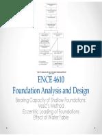 461-sl3 Bearing Capacity of Shallow Foundation