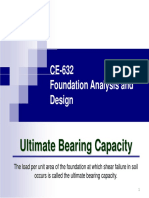 CE 632 Bearing Capacity PPT