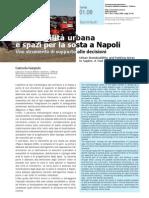Sostenibilità urbana e spazi per la sosta a Napoli. Uno strumento di supporto alle decisioni