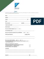 01 - EcoKleenSolar - Personal Information Form