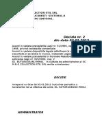 p25 Decizie Interna Nr 2