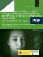 Estudio Malestar Psicológico de Cuidadores Con Personas Con Demencia
