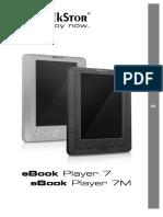 Manual eBook Player 7-7M v1-30 ES