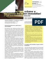 Trasformazioni urbane e variazione dei valori immobiliari. Il ruolo delle stazioni Alta Velocità