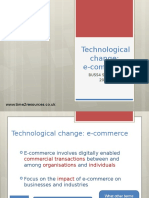 technological change ecommerce