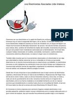 Ingenieros Y Tecnicos Electricistas Asociados Ltda Inteleca