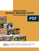Training Module for Incident Response System for Basic and Intermidiate- Published by NIDM, Govt. of India