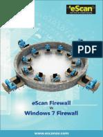 EScan Firewall W7 Firewall