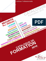 Catalogue Des Formations Année 2016 _CFCP_