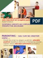 Scopurile greșite ale copiilor - comportament nedorit de părinți