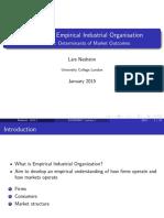 Empirical IO