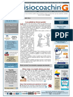 News Fisiocoaching Nº43 Febrero 2016