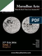 MarudharArts Printed Auction No.17