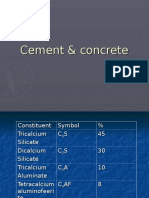 Cement & concrete.ppt