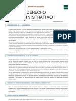 Guía Derecho Administrativo I