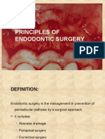 Principles of endodontic surgery