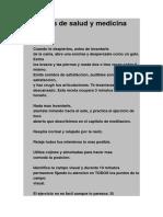Ejercicios de Salud y Medicina Natural