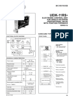 Amplifier Card for Valve With Feedback UEIK 11RS