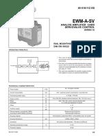 Analog Amplifier Card Servocontrol