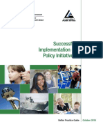 ANAO - BPG Policy Implementation