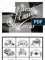 125 Years of the Motorcar