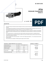 Pressure Transducer PTH