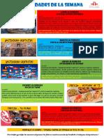 Actividades de la Escuela de Español 15 - 21 Febrero