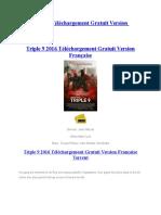 Triple 9 2016 Téléchargement Gratuit Version Française