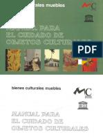 Manual Para El Cuidado de Objetos Culturales