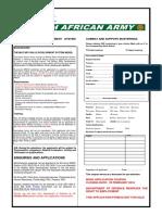 Sandf Application Forms 2016 Pdf