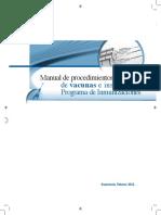 Manual de Procedimientos de Vacunas