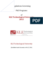 Regulations Governing Phd Programs Jan2016