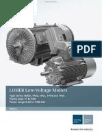 Loher Motors Catalog d83 1 En